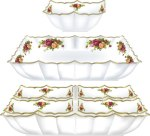Doultan China Serving Dish