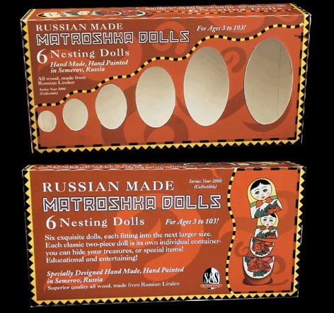 Matroshka Doll Packaging