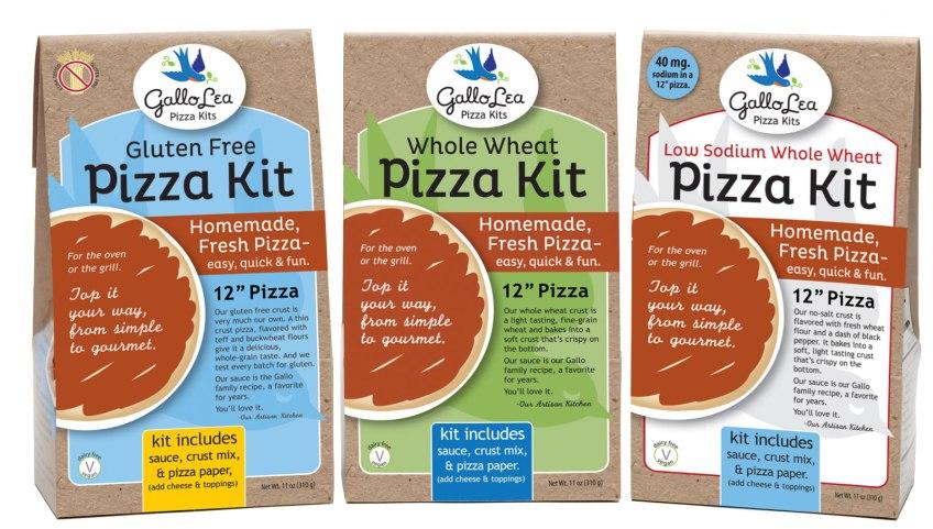 pizza kit packaging